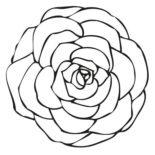 kleurplaten rozenkrans