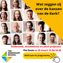 zaterdag 20 maart - The Missionary School - Project Pitch
