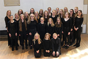zaterdag 29 september - Evensong - Roden Girl Choristers